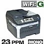Alternate view 1 for Brother MFC-7840W WiFi Mono Laser Multifunction