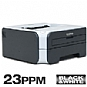 Brother HL-2140 Mono Laser Printer - 600 x 2400 dpi, 23 ppm, USB