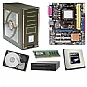Alternate view 1 for Asus M2N68-AM PLUS GeForce Barebones Kit