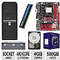 Alternate view 1 for Biostar N68S3B GeForce Socket AM3 Motherboa Bundle