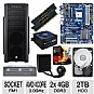 Alternate view 1 for GIGABYTE GA-A75-UD4H AMD A Series Motherboa Bundle