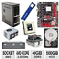 Alternate view 1 for BIOSTAR A780L3G AMD 780L Socket AM3 Motherb Bundle
