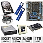 Alternate view 1 for ASUS M5A78L-M LX PLUS AMD 760G AM3+ Motherb Bundle