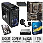Alternate view 1 for ASUS Sabertooth X79 TUF Intel i7-3930K Bundle