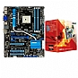 Alternate view 1 for ASUS F1A75-V PRO and AMD A8-3850 APU Bundle