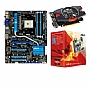 Alternate view 1 for ASUS F1A75-V PRO &amp; A8-3850 APU &amp; Radeon 6670 Bndl