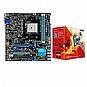 Alternate view 1 for ASUS F1A75-M LE & AMD Triple-Core A6-3500 APU Bndl