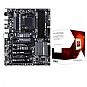 Alternate view 1 for GIGABYTE GA-990FXA-UD3 and AMD FX-6100 CPU Bundle