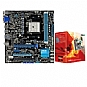 Alternate view 1 for ASUS F1A75-M LE Board and AMD A6-3650 APU Bundle