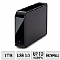 Alternate view 1 for Buffalo 1TB External Hard Drive