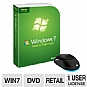Microsoft Windows 7 Home Premium UPGRADE DV Bundle