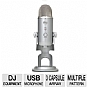 Blue Microphones Yeti USB Microphone - Tri-Capsule Array, Multiple Pattern Selection