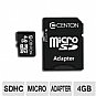 Alternate view 1 for Centon 4GB microSDHC Card