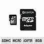 Alternate view 1 for Centon 8GB MicroSDHC Card