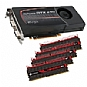 Alternate view 1 for EVGA GeForce GTX 470 SC w/ Corsair 8GB PC15000 RAM