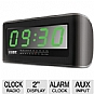 Alternate view 1 for COBY CRA108 Digital Jumbo Alarm Clock Radio