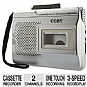 Alternate view 1 for COBY CXR60 Voice-Activated Cassette Recorder