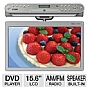 Alternate view 1 for COBY KTFDVD1560 Under-the-Cabinet DVD Player