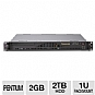Alternate view 1 for CybertronPC Quantum TSVQJA1521 1U Rackmount Server