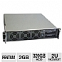 Alternate view 1 for CybertronPC Quantum TSVQJA221 2U Rackmount Server