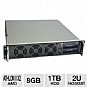 Alternate view 1 for CybertronPC Quantum TSVQBA221 2U Rackmount Server