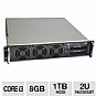 Alternate view 1 for CybertronPC Quantum TSVQJA2221 2U Rackmount Server