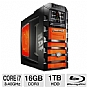 2nd generation Core i7-2600K 3.4GHz, 16GB DDR3, 2x 64GB SSD, 1TB HDD, Blu-ray ROM, 2x NVIDIA GeForce GTX 570SLI, Liquid Cooling, Windows 7 Home Premium 64-bit