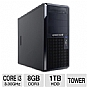 Alternate view 1 for CybertronPC Core i3 Caliber Tower Server
