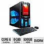 Alternate view 1 for CybertronPC Core i5 500GB HDD Gaming PC