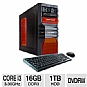 Alternate view 1 for CybertronPC Core i3 16GB DDR3 Gaming PC