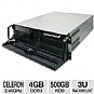 Alternate view 1 for CybertronPC Quantum 3U Rackmount Server
