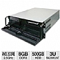 Alternate view 1 for CybertronPC Quantum AMD A4 3U Rackmount Server