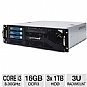 Alternate view 1 for CybertronPC Caliber Core i3 3U Rackmount Server
