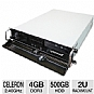 Alternate view 1 for CybertronPC Quantum Celeron 2U Rackmount Server