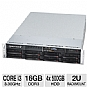 Alternate view 1 for CybertronPC Imperium Core i3 2U Rackmount Server