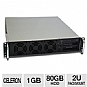 More Info on CybertronPC Quantum XL2010  2U Rackmount Server - Intel Celeron D 347 3.06GHz, 1GB DDR2-667MHz PC5400, 80GB SATA II HDD, Slim DVD/CD-RW, 400 Watt PSU
