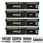Corsair 16GB (4x4GB) DDR3 XMS3 Desktop Memory Kit