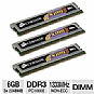 Alternate view 1 for Corsair XMS3 Tri Channel 6GB PC10666 DDR3 Memory