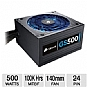 Alternate view 1 for Corsair 500W Gaming Series GS500 80 Plus PSU