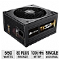 Alternate view 1 for Corsair 550W 80 Plus Bronze Modular PSU