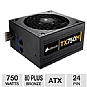 Alternate view 1 for Corsair TX750M 750W Modular 80 Plus Bronze PSU