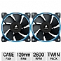 Alternate view 1 for Corsair SP120 Performance Edition Fan Twin Pack