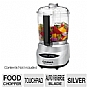 Cuisinart Chrome Mini-Prep Plus DLC-4CHBFR 4-Cup Food Processor - Auto-Reversing SmartPower Blade, Chop, Grind, Touchpad, Refurbished