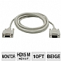 Alternate view 1 for Cables To Go 10-Foot HD15 Monitor Cable