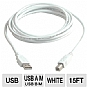 Alternate view 1 for Cables To Go 15-Foot USB 2.0 A/B Cable