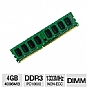 Crucial CT51264BA1339 4GB PC10600 DDR3 Desktop Memory Upgrade - 1x4096MB, Non-ECC, Unbuffered, 1333MHz