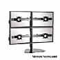 Alternate view 1 for Chief KTP445B Widescreen Quad Monitor Table Stand