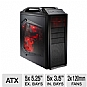 "Cooler Master Storm Scout ATX Mid-Tower Black Case - 5 Exterior 5.25"" Drive Bay, 1 Exposed 3.5"" Drive Bay,  5 Interior 3.5"" Drive Bay. ""Supports Nvidia GTX 480"""