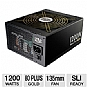 Alternate view 1 for Cooler Master Silent Pro Gold 1200W Power Supply