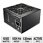 Alternate view 1 for Cooler Master GX Series 650W Power Supply